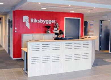 Kv Gården, Riksbyggens kontor
